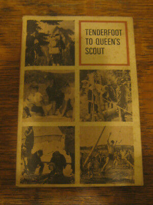 Boy Scouts of Canada Tenderfoot to Queen's Scout - 1956 Troop Scout Handbook