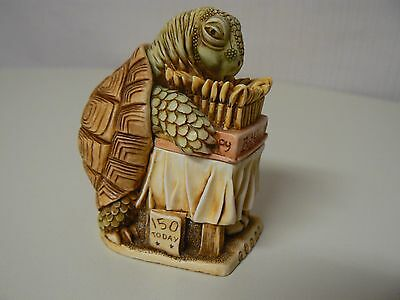 Harmony Kingdom WISHFUL THINKING Tortoise Birthday TJTU2 Treasure Jest NEW