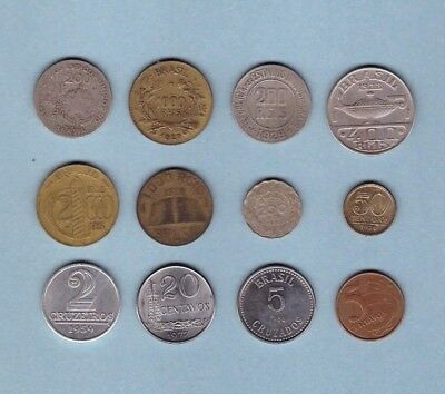 Brazil (1901-1999) - Coin Collection Lot # X-5 - World/Foreign/South America