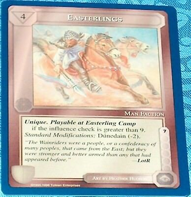 MECCG The Wizards Unlimited TWUL CCG TCG Rare cards 1//6