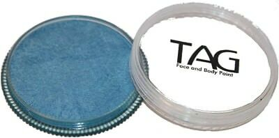 32g TAG Professional Face Paint Pearl Colour ~ Pearl Sky Blue. Shipping is Free