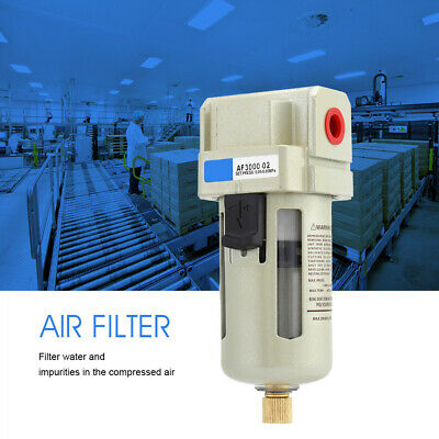 "AF3000-02 1/4"" Port Air Oil Water Separator Filter 1500L/ Min 1.0mpa Durable"