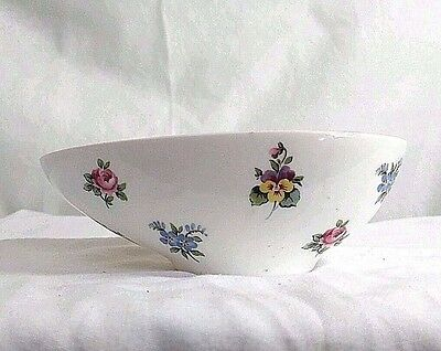 Crown Staffordshire Floral Bouquet Bone China flower oval small bowl Egg England