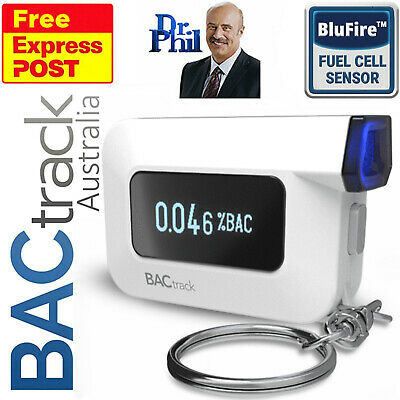Breathalyser. Alcohol Breath Tester - BACtrack C6 Smartphone. BLUFIRE® FUEL CELL