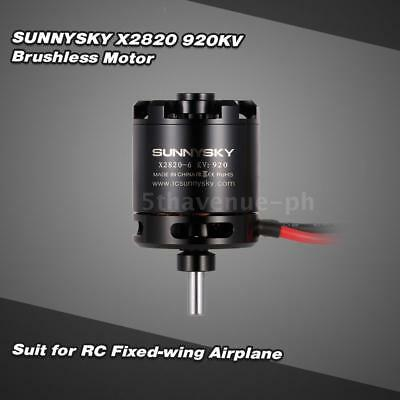 SUNNYSKY X2820 920KV 3-5S Brushless Motor for RC Airplane Aerobatic J5H9