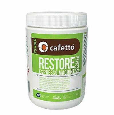 NEW CAFETTO RESTORE DESCALER 1KG Decalcifier Decalcify Espresso Coffee Machine