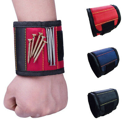 Magnetic Wristband Pocket Tool Belt Pouch Bag Screws Holder Carpenter Supreme