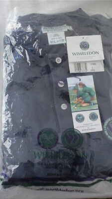 WIMBLEDON CHAMPIONSHIP SHIRT(Mens  large)  - AUTHENTIC WIMBLEDON MERCHANDISE