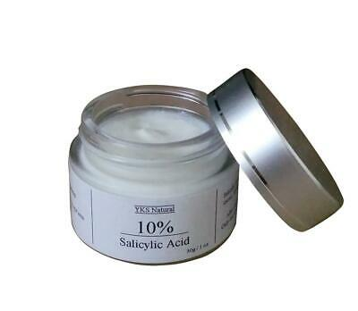 10% Glycolic Salicylic Acid Face Peel AHA BHA Cream Chemical Acne Scars Pimples
