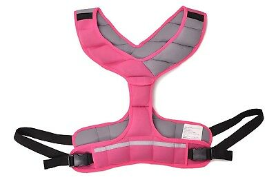 (Pink) - Zeyu Sports Walking Fitness Weighted Vest 8LBS/3.6KG Running