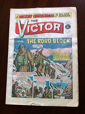THE VICTOR No.566 CHRISTMAS ISSUE DECEMBER 25th 1971