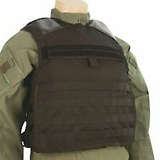 5ive Star Gear 2803002 LW1 Black 1200 Denier Nylon Plate Carrier Vest - XL/3XL