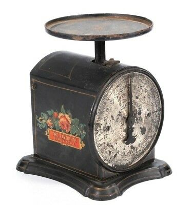 1900's Antique SCALE JOHN CHATILLON & SONS FAMILY NEW YORK 24lbs