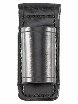 Aker Leather Products A554-BP Durable Black Flashlight Carrier for Stinger
