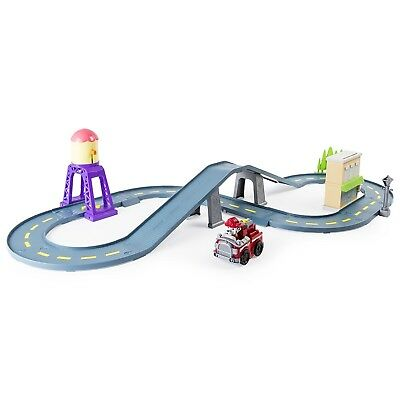 Paw Patrol Roll Patrol – Marshall's Town Rescue Track Set with Exclusive