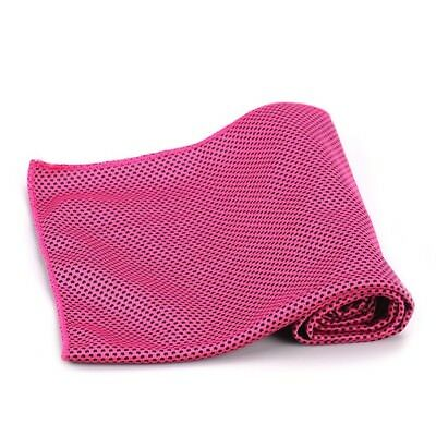 (100cm  x 33cm , Red) - Cooling Towel for sports,Cool Bowling Fitness Yoga