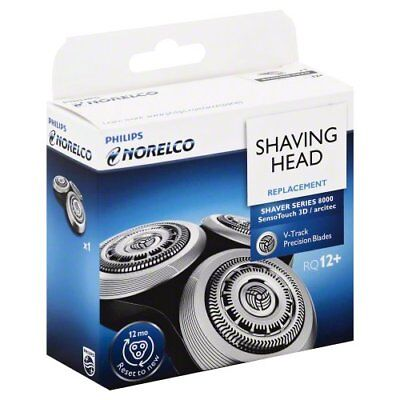 Shaving Head for Philips Norelco RQ12+ RQ12 Series 8000 9000 SensoTouch 3D