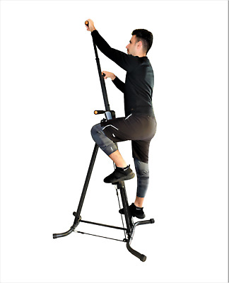 X Factor Vertical Climber Maxi Workout XR with Resistance Bands