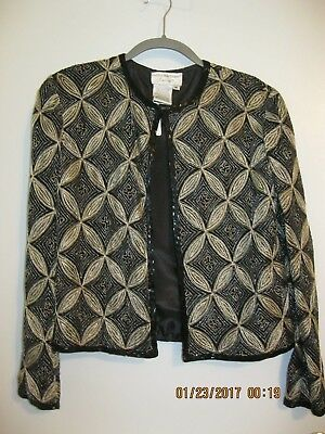 Beaded Jacket By Papell med