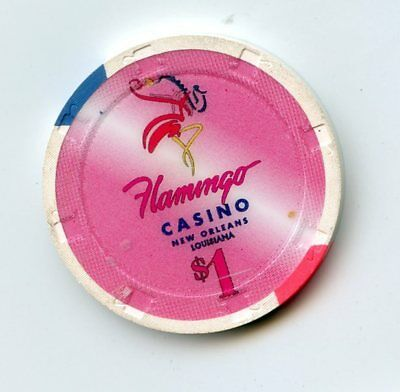 1.00 Chip from the Flamingo Casino in New Orleans Louisiana