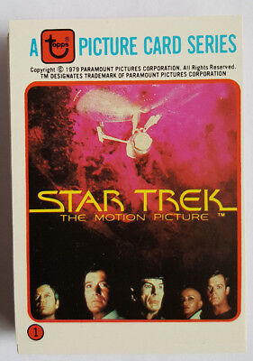Star Trek The Motion Picture 1979 Rainbo Bread Trading Card Set NM-MT Condition