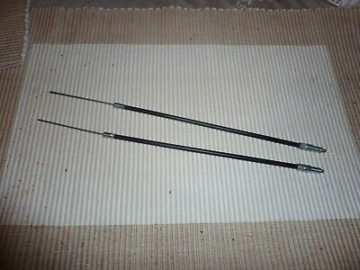 ROVER P5B Short choke cables.  One pair.   New Old Stock.