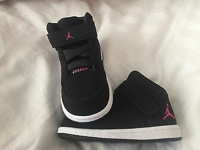 sports shoes e93bb 5dcd7 Nike Jordan 1 Flight 4 Prem Infant Trainers Size 4.5 EUR 21 Toddler BNIB  RRP £