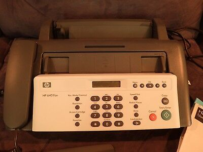 HP 640 Fax Machine