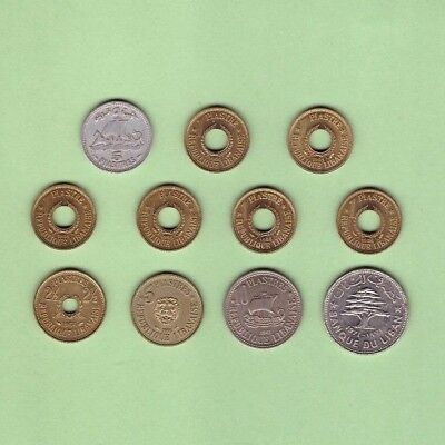 Lebanon - Coin Collection Lot # X-15 - World/Foreign/Middle East