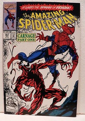 Amazing Spiderman # 361 First Carnage