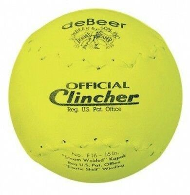 """Debeer"""" Specialty Softball *40.6cm *Yellow. Free Delivery"""