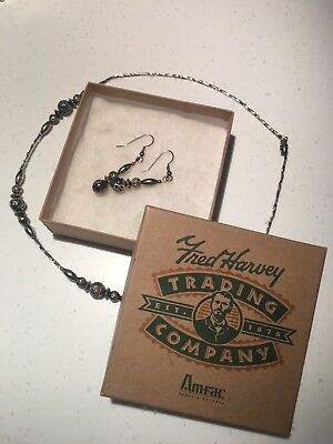 Fred Harvey Trading Company Necklace and Earrings