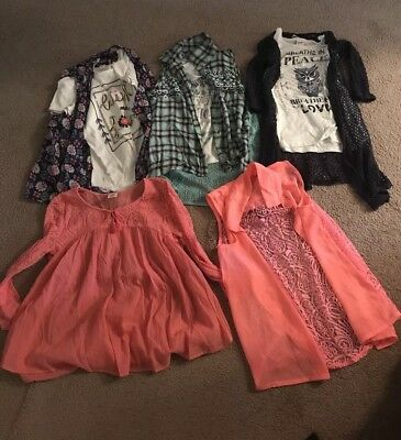Lot Girls Tops Size Large 14