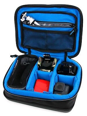 (Blue) - Protective EVA Portable Speaker Case (in Blue) for VTIN Ciber