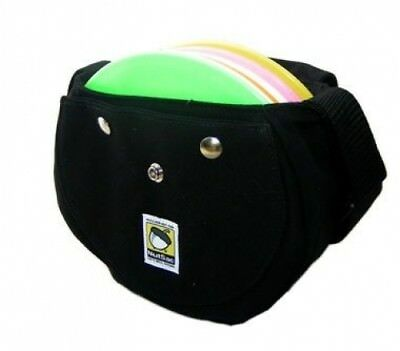 Nutsac Disc Golf Bag (Black). Free Delivery