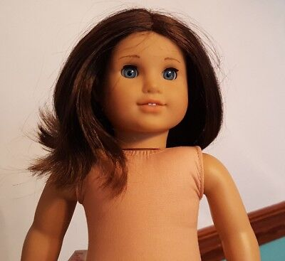 American Girl Doll Short Brown Hair Blue Eyes 18 69 00 Picclick
