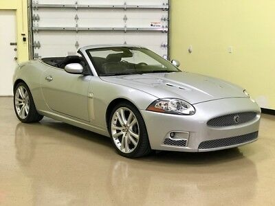 2007 Jaguar XKR Convertible 2007 Jaguar XKR Convertible,Silver,Black Leather,1 Owner 55868 Miles.