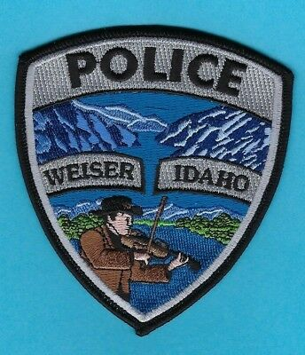 Weiser Police Department Patch ~ Idaho ~ Beautiful Artwork & Colors ~ L@@k