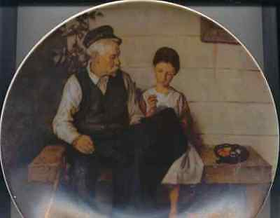 Norman Rockwell The Lighthouse Keepers Daughter Knowles #5128P 1st Edition 1977