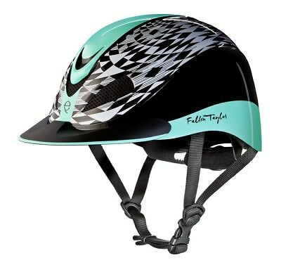 (Medium, Mint Aztec) - Troxel Fallon Taylor Performance Helmet. Shipping is Free