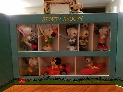 Sport Sporty Snoopy Collection/McDonald's Free Gift/Limited Box/Rare/Japan