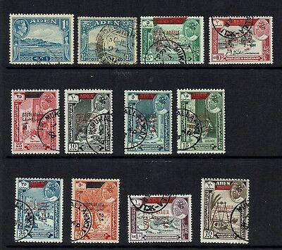 Aden...south Arabia To 10/-....used Lot