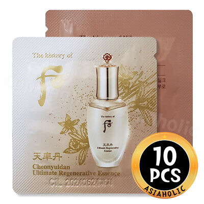 The history of Whoo Cheonyuldan Ultimate Regenerating Essence 1ml x 10pcs (10ml)