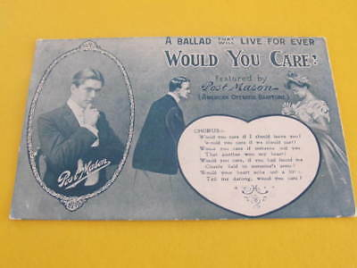 Alberts Lyric Series Postcard Featured by Post Mason Postaly used