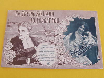 Alberts Lyric Series Postcard Featured by Hela Barlow Postally used TOO LATE