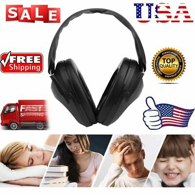 Protection Ear Muff Noise Cancelling Hearing Head Phones Soundproofing Safety KG