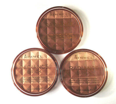 RIMMEL RADIANCE BRICK BRONZING POWDER choose a shade