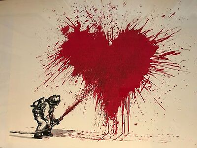 Mr. Brainwash - Love to the Rescue - signiert & nummeriert / signed & numbered