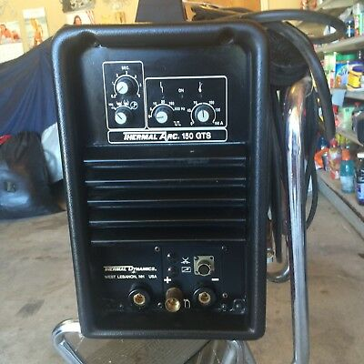 Thermal Arc 150 GTS Tig/Stick Welder 115/250 input volts. Only used once