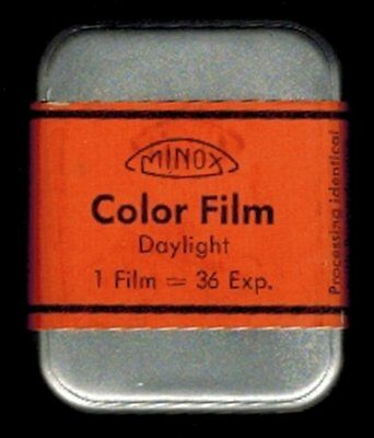 UNUSED CONDITION MINOX ASA 32 FILM NOV.1956 Sealed 36 Exposures